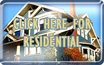 Click here button for heating and air Sacramento services in residential properties with gold letters.